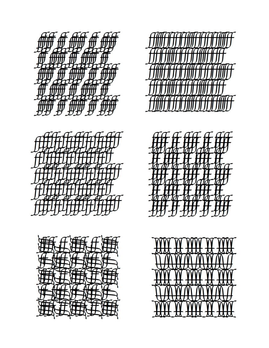 preliminary pattern study